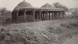 Ruined temple converted into a mosque, Dholka, Gujarat